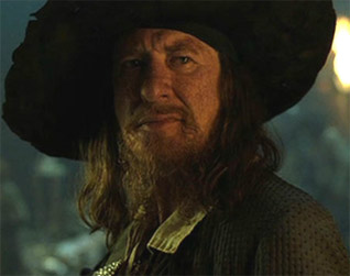 Image result for pirates of the caribbean captain barbossa